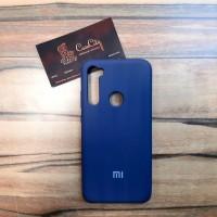 Силиконовый чехол Silicone Case для Xiaomi  Redmi Note 8, синий