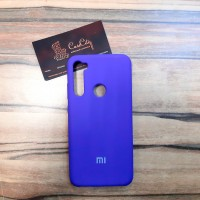 Силиконовый чехол Silicone Case для Xiaomi  Redmi Note 8, сиреневый