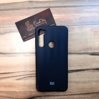 Силиконовый чехол Silicone Case для Xiaomi  Redmi Note 8, чёрный