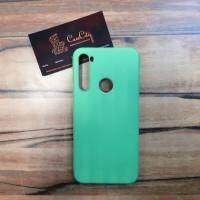 Силиконовый чехол Silicone Case для Xiaomi  Redmi Note 8, зелёный