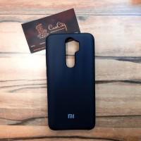 Силиконовый чехол Silicone Case для Xiaomi Redmi Note 8 Pro, чёрный