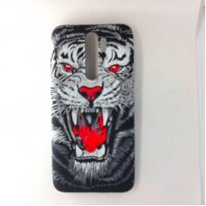 "Чехол-накладка для Xiaomi Redmi Note 8 Pro Luxo, ""Tiger"""