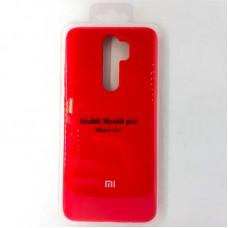 Чехол-накладка Silicon Case для Xiaomi Redmi Note 8 Pro, красный