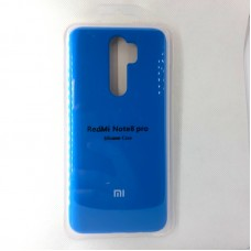 Чехол-накладка Silicon Case для Xiaomi Redmi Note 8 Pro, синий