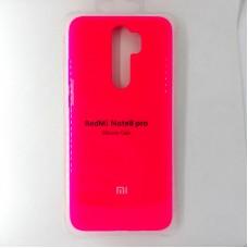 Чехол-накладка Silicon Case для Xiaomi Redmi Note 8 Pro, оранжевый