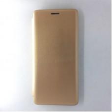 Чехол-книжка EXPERTS для Xiaomi Redmi Note 8 Pro, без окна, золотой