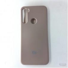 Чехол накладка Silicon Case для Xiaomi Redmi Note 8T, серый