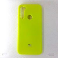 Чехол накладка Silicon Case для Xiaomi Redmi Note 8T, жёлтый
