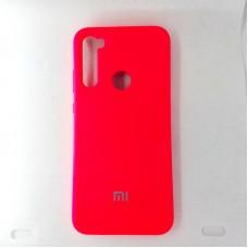 Чехол накладка Silicon Case для Xiaomi Redmi Note 8T, красный