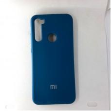 Чехол накладка Silicon Case для Xiaomi Redmi Note 8T, синий