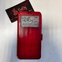 Чехол-книга с окошком EXPERTS для Xiaomi Redmi 8A, красный