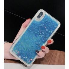 Чехол пересыпка для Xiaomi Mi 8 Lite голубой