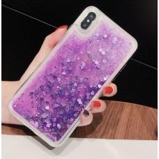 Чехол пересыпка для Samsung Galaxy J530 (2017) фиолетовый