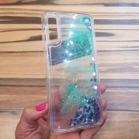 Чехол пересыпка для Samsung Galaxy A40 зелёный