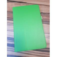 "Чехол для планшета Кожзам 8"" Lenovo Tab 4, зеленый"
