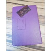 Чехол для планшета Кожзам Samsung Tab S4, фиолетвый
