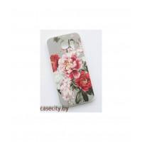 Чехол-накладка для Samsung Galaxy  S6 G920  силикон с рисунком