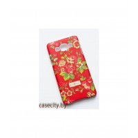 Чехол-накладка для  Samsung Galaxy A5  пластик с софттач покрытием