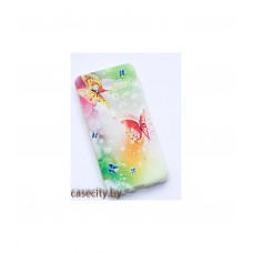 Чехол-накладка Samsung Galaxy J7 силикон со стразами
