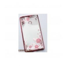 Чехол накладка для Xiaomi Mi Max силикон со стразами