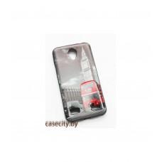 Чехол накладка для ZTE Blade A520 силикон с картинками