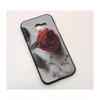 Чехол -накладка для Samsung Galaxy A5 (2017) A520F силикон с рисунками