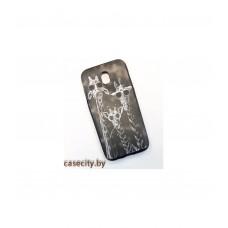 Чехол-накладка для Samsung Galaxy J5 2017 J530 силикон с рисунками