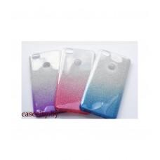 Чехол для Huawei P smart накладка силикон с градиентом