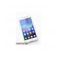 Чехол-накладка для Huawei Honor 6 силикон жесткий