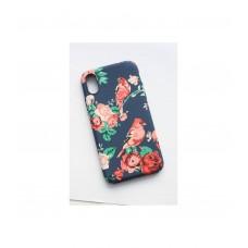 Чехол для iPhone X силикон Luxo цветы
