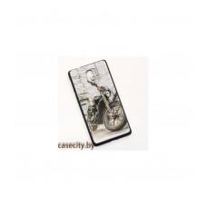 Чехол-накладка для Nokia 3 силикон с рисунками