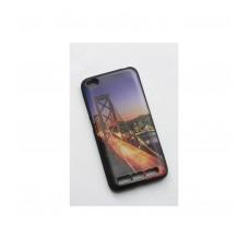 Чехол для Xiaomi Redmi 5A накладка силикон с рисунками город