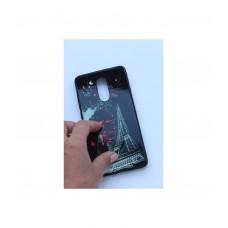 Чехол для Xiaomi Redmi Note 4/Note 4x накладка с pop socket Эйфелева башня