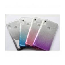 Чехол для Xiaomi Mi 8 накладка силикон с градиентом