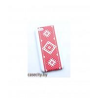Чехол -накладка для iPhone пластик вышиванка