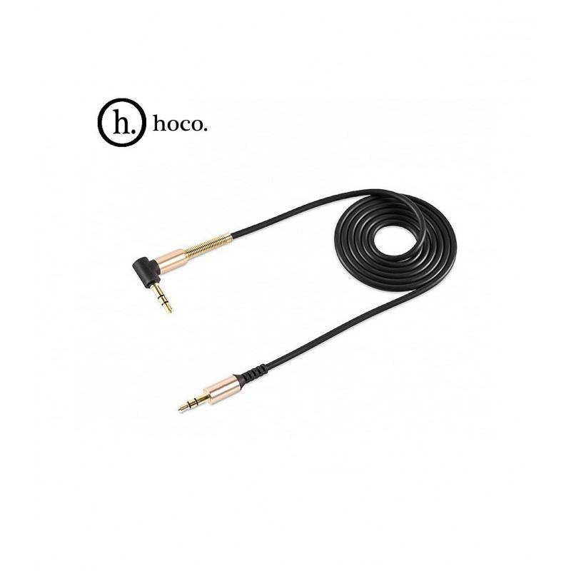 Акустический кабель UPA02 AUX Spring Audio Cable 3.5mm 1м Hoco