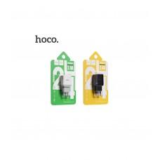Зарядное устройство C22A черный, белый Hoco 2,4A