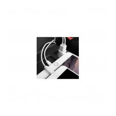 Автомобильное зарядное устройство Z12 (lightning) белый 2.4A