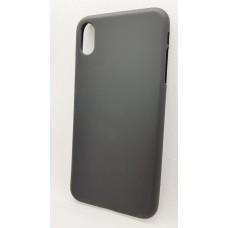 Силиконовый чехол EXPERTS для Apple iPhone XS Max черный