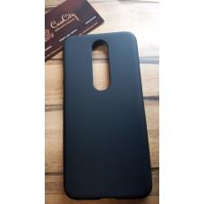 Силиконовый чехол EXPERTS для Nokia 6.1 Plus черный