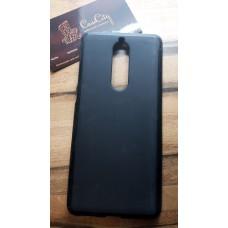 Силиконовый чехол EXPERTS для Nokia 5.1 черный