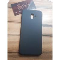 Силиконовый чехол EXPERTS для Samsung Galaxy J6 Plus (J610)) черный