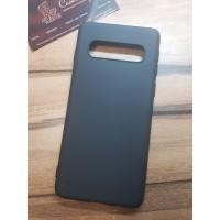 Силиконовый чехол EXPERTS для Samsung Galaxy S10 (G973) черный
