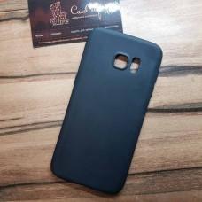 Силиконовый чехол EXPERTS для Samsung Galaxy S7 edge (G935) черный