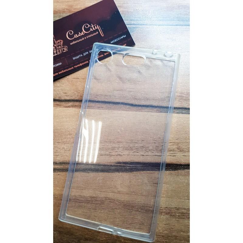 Силиконовый чехол EXPERTS для Sony Xperia XZ1 Compact прозрачный