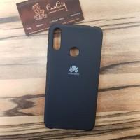 Чехол Silicone case для Huawei/Honor Y9 2019, черный