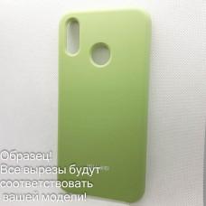 Чехол Silicone case для Huawei/Honor Y9 2019, зеленый