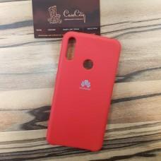 Чехол Silicone case для Huawei/Honor Y9 2019, красный