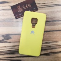 Чехол Silicone case для Huawei/Honor Y9 2019, желтый