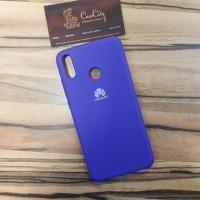 Чехол Silicone case для Huawei/Honor Y5 (2019)/Honor 8S, фиолетовый